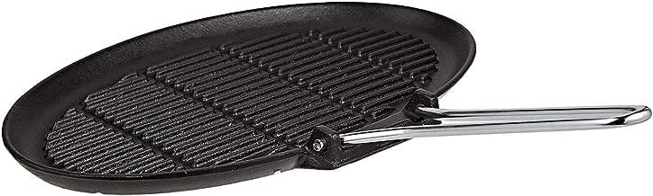 Prestige Cast Iron Oval Chargriller - 35 cm Black