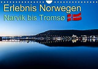 Erlebnis Norwegen: Narvik bis Tromsø (Wandkalender 2022 DIN A4 quer): Verschiedene eindrucksvolle Aufnahmen aus Norwegen....