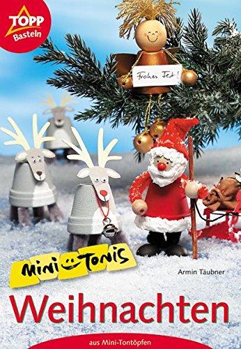 Mini-Tonis Weihnachten: Mini-Tontöpfe