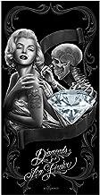 Diamantes toalla de playa Fusions David Gonzales Art