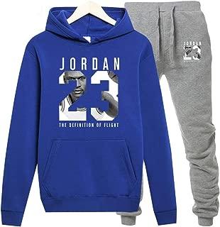 Jordan Hoodie Men 23 Sportwear Sets Male Sweatshirts Clothing+Pants Plus Size