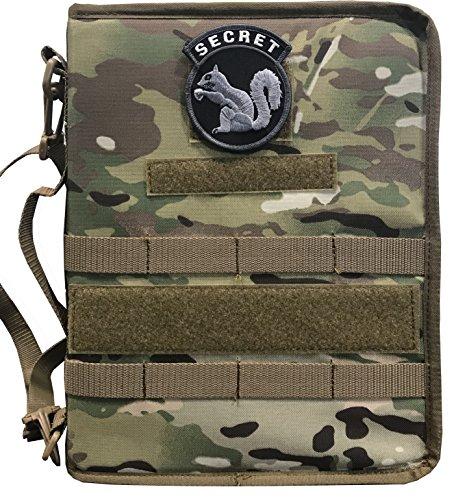 FCB Multicam OCP Secret Squirrel Tactical Military Padfolio