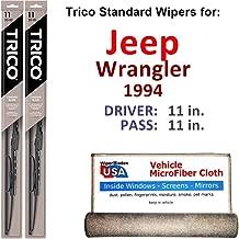 1994 jeep wrangler wiper blade size