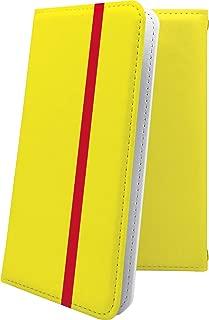 YUI AQUOS ZETA SH-04H / SH-04F / SH-01H ケース 手帳型 黄色 きいろ イエロー おしゃれ アクオスゼータ 手帳型ケース かっこいい SH01H SH04F SH04H AQUOSZETA ボーダー マルチストライプ 10455-a1001a-10001051-SH01H SH04F SH04H