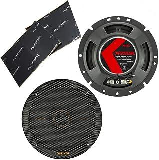 "$119 » Kicker 47KSC6704 Car Audio 6 3/4"" Coaxial 400W Peak Full Range Speakers KSC6704 Bundle with Harmony Audio Sound Dampening ..."