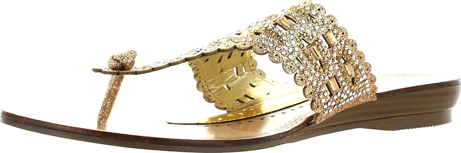 Extreme Womens Sima Fashion Glitzy Flip Flop Sandals
