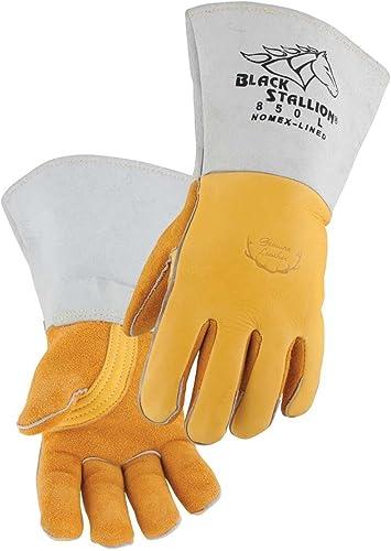 lowest Revco 850L Flame Resistant wholesale Nomex Lined Elkskin discount Stick Welding Gloves L online