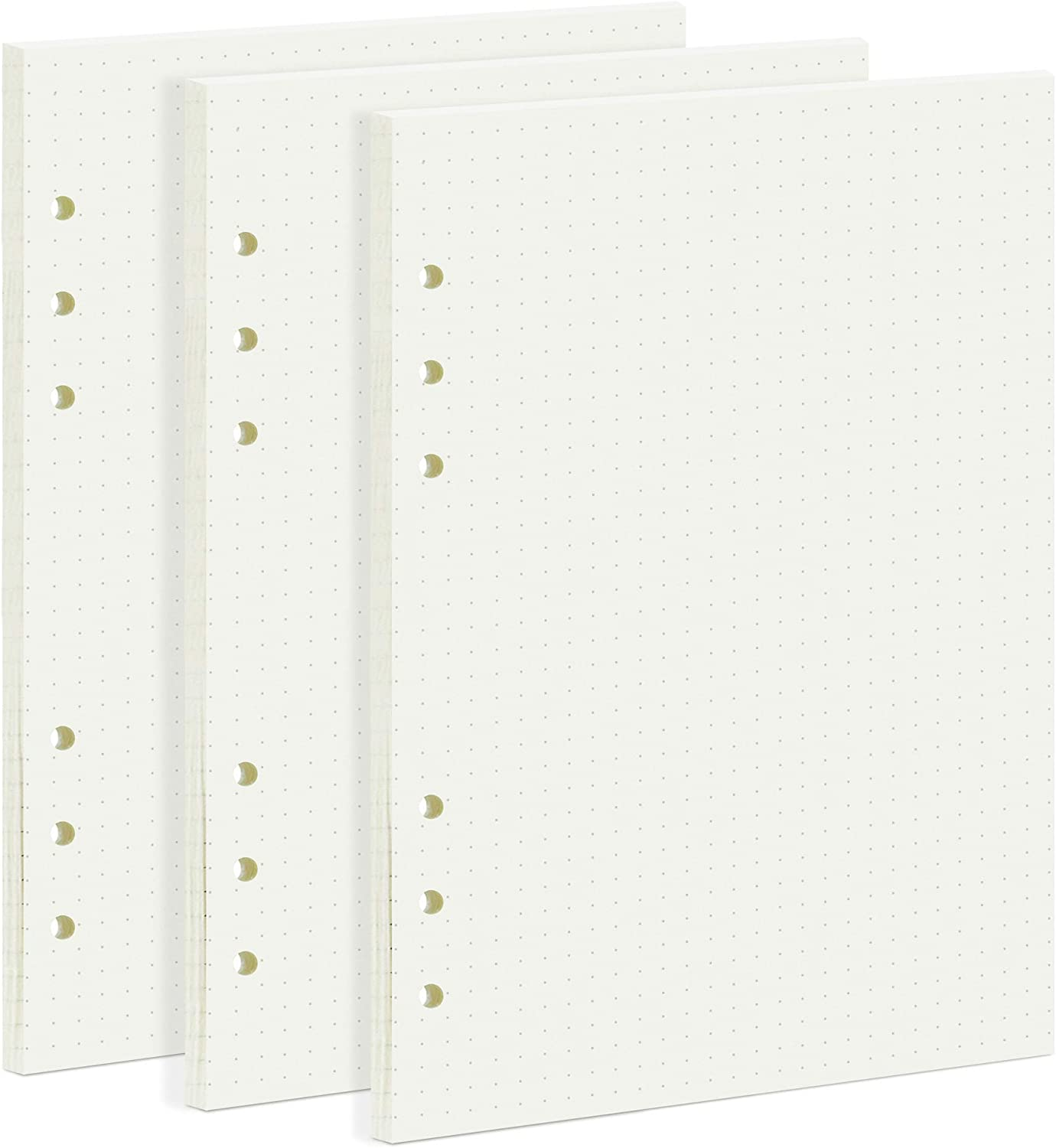135 Max 65% OFF Sheets Planner Refill Paper A5 Inserts List price Holes 6 Dotted
