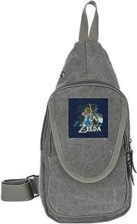 AHISHNF Zelda Breath of The Wild Link - Bolsa de Hombro para Hombre y Mujer