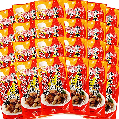 広島名産 せんじ肉 とうがらし味 24袋セット(1袋40g) ホルモン珍味 せんじがら 大黒屋食品