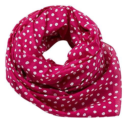 edc by Esprit Accessoires 077ca1q003 Bufanda, Rosa (Dark Pink 650), Talla única para Mujer