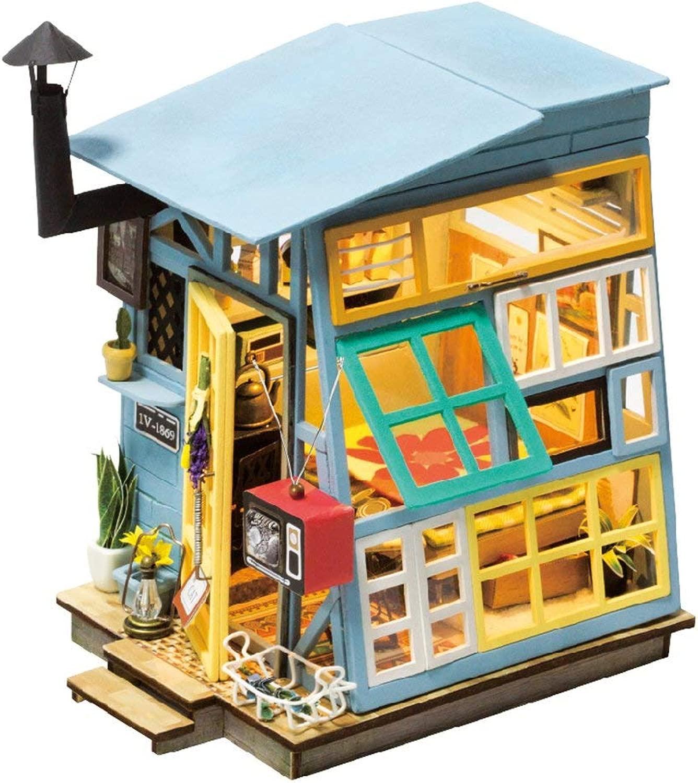 giocattolo House kit-mini DIY giocattolo Chalet Suite-Home Craft set migliore istruzione fornisce il miglior regalo di compleanno per gli adolescenti