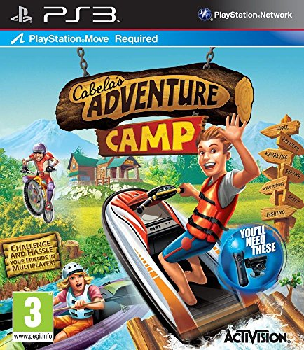 Cabela's adventure camp (jeu PS Move) [Edizione: Francia]