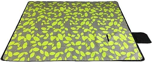 JAOFonctionneHommest Tapis Pliant portable épais de Tapis de Pique-Nique extérieur Tapis de Camping en Plein air
