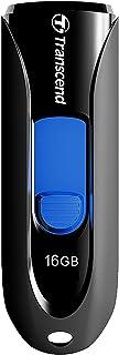 Transcend USBメモリ 16GB USB 3.1(Gen 1) スライド式 ブラック TS16GJF790KAE (ecoパッケージ)【Amazon.co.jp限定】