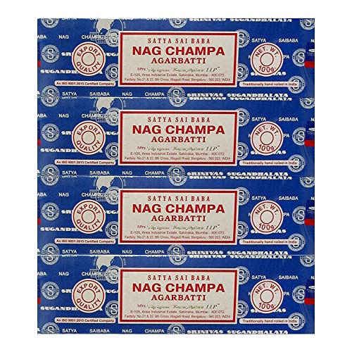 Satya Sai Baba Nag Champa Incense Sticks (400 GRAMS)
