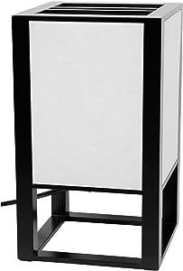 Oriental Furniture Washitsu Japanese Table Lamp - Black