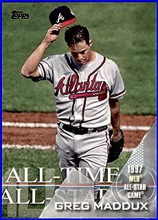 2017 Topps All Time All Stars #ATAS37 Greg Maddux ATLANTA BRAVES Baseball Card