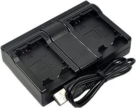 NP-FM500H Battery Charger USB Dual for Sony NPFM500H a 100 a 200 a 300 a 560 a 700 a 850 Alpha DSLR-A100 A200 A300 A350 A450 A500 A550 A580 A700 A850 a58 a99 A560 A900B SLT-A65 A57 A77 II A77V SLT-A99