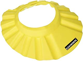 EZONEDEAL Adjustable Safe Soft Bathing Baby Shower Hair Wash Cap For Children, Baby Bath Cap Shower Protection Shield For ...