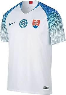 2018-2019 Slovakia Home Football Soccer T-Shirt Jersey