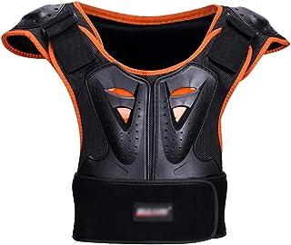 wisedwell Protection Dorsale VTT Moto Sports de Protection /Équipement de Armure de Protection Arri/ère de Garde de S/écurit/é Sportive Respirante et Amovible