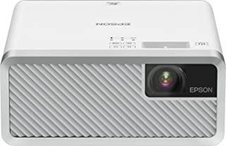 Epson EF-100W 3LCD, Laser, Streaming Device, Bluetooth, Built in 5 W Speaker, Portable Projector - White