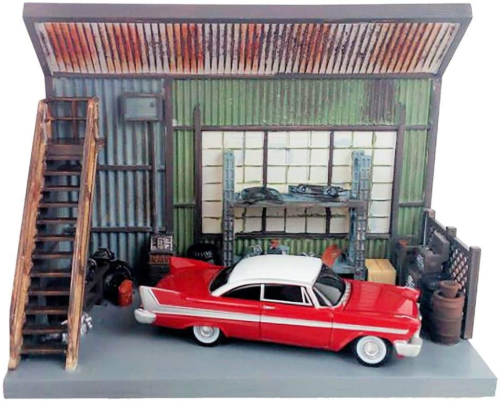 Auto Tulsa Mall World 1958 Plymouth Fury Red Garage Scenic with D Challenge the lowest price Darnell's