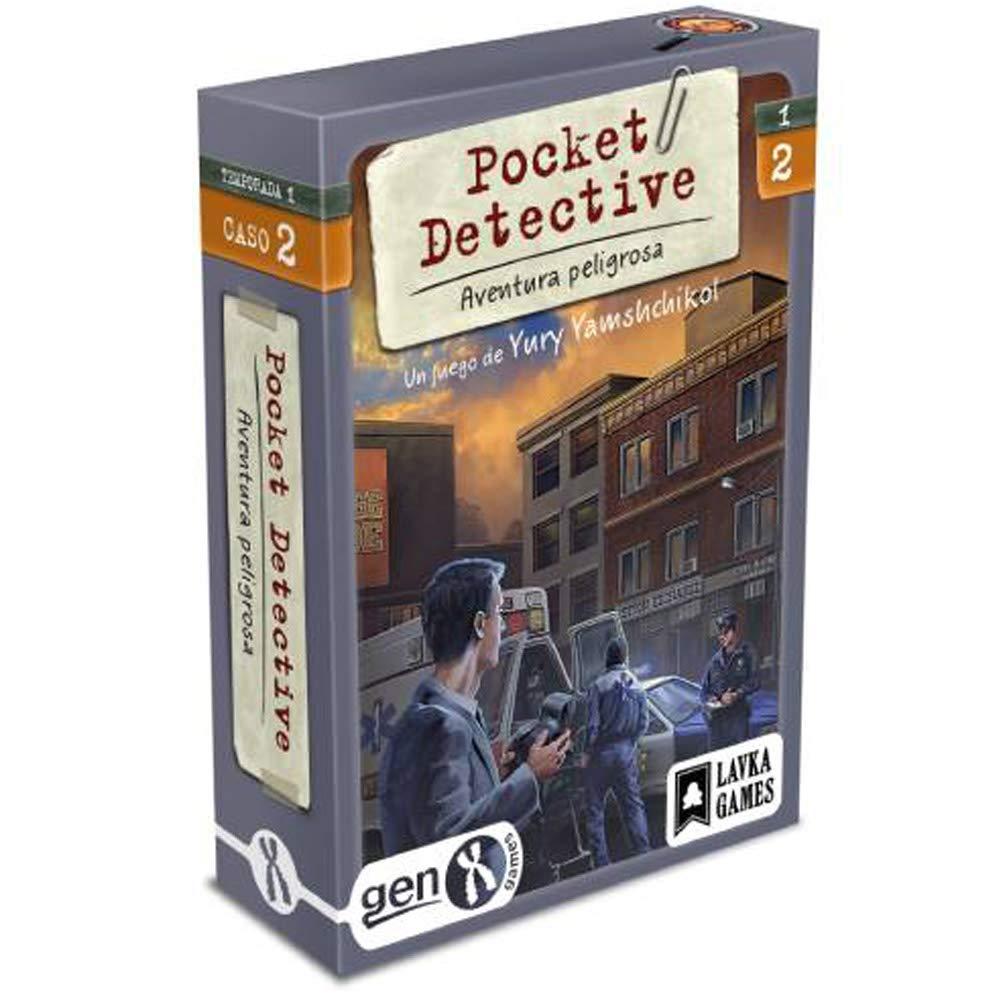 Gen x games Pocket Detective - Temporada 1 - Caso 2: Amazon.es: Juguetes y juegos