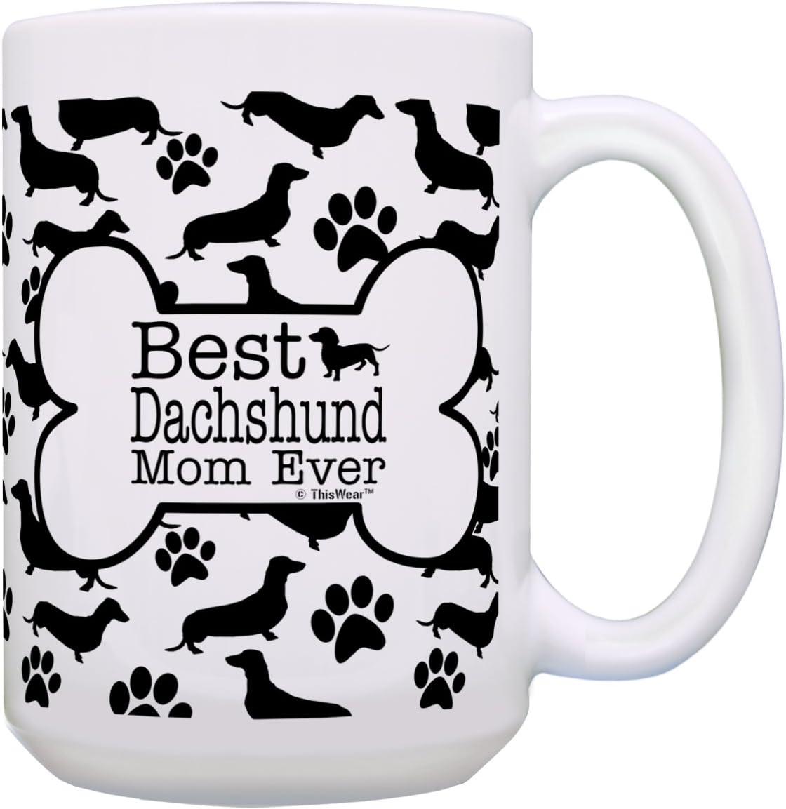 Dachshund Dog Gifts Best Ranking TOP20 Mom Dachshu Pattern Ever Bone Mesa Mall