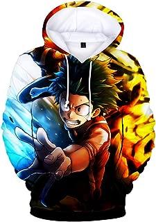 Boku No Hero Academia Hoodie 3D Printed Hooded Pullover Sweatshirt