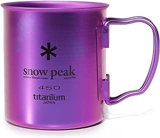 Snow Peak Men's Single Wall 450 Mug