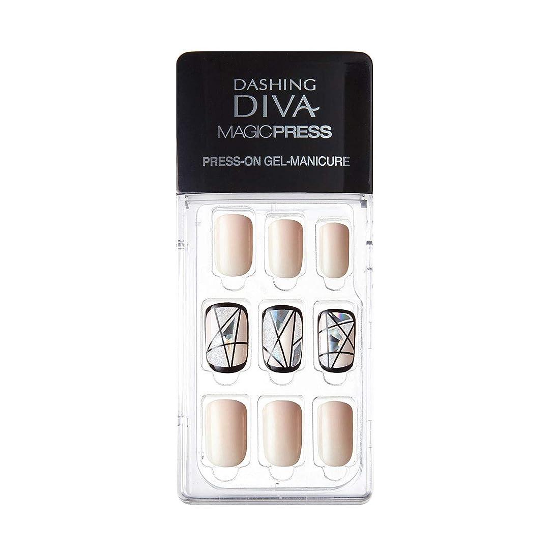 土仮定するフロントダッシングディバ マジックプレス DASHING DIVA MagicPress MDR081-DURY+ オリジナルジェル ネイルチップ