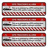 Finest-Folia R054 - Juego de 3 pegatinas para GPS (aluminio pulido plateado, para coche)