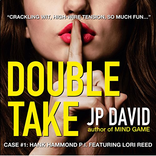 Double Take audiobook cover art