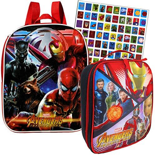 Lunch Bag Set (Spiderman Backpack & Lunch Bag)