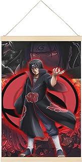 VGFD Sasuke Uchiha Itachi Uchiha Sasuke Uchiha Naruto Toile décorative murale 40,6 x 61 cm