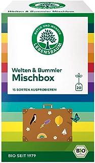 NEW: Lebensbaum Bio Tee Welten & Bummler 15 Sorten zum Probieren, 3er Pack 3 x 37 g