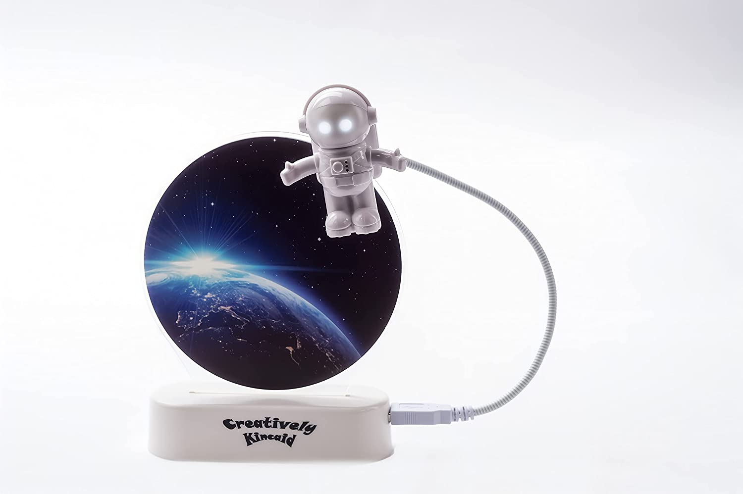 Night Ranking TOP2 Light Max 55% OFF for Kids Space f Spaceman Figurine with
