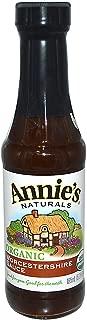Annie's Naturals, Organic, Worcestershire Sauce, 6.25 fl oz (185 ml)(Pack of 1)