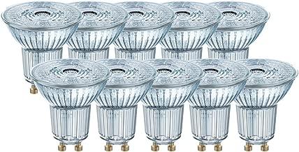 Osram Base PAR16 LED-Reflektorlampe mit GU10-Sockel, 3.6 W, 10 Stück