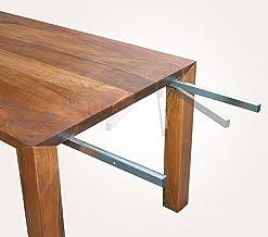 Gedotec Tafelbladverlenging, zwenkbaar voor tafelaanzetplaten en tafeluitbreiding, verzinkt metaal, zwenkdrager met draagk...