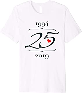 Outfit For Couples - 25th Wedding Anniversary Premium T-Shirt