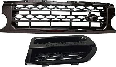 RC Trading 2005-2009 Land Rover Discovery 3 LR3 Grille and side vents black F