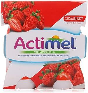 actimel Strawberry Dairy - 4 x 93 ml