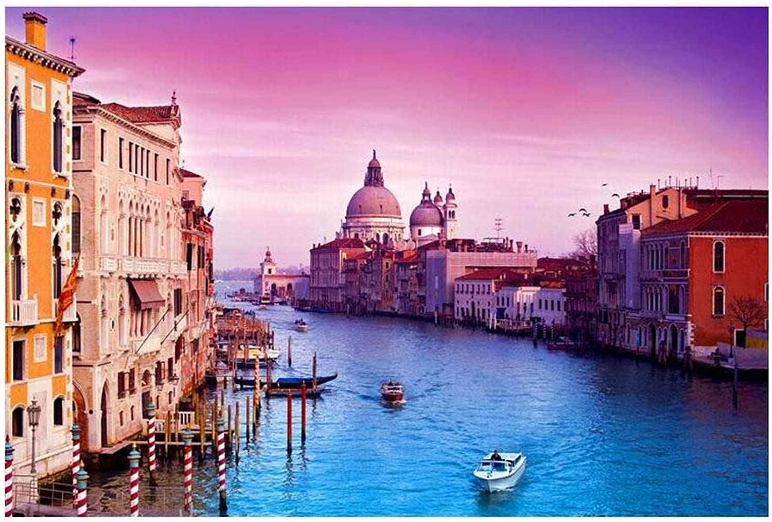 [Venice] 1000 Piece Wooden Jigsaw Puzzles Classic Jigsaw Puzzles Toy