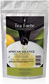 Sponsored Ad - Tea Forte African Solstice Loose Bulk Tea, 1 Pound Pouch, Herbal Tea Tea Makes 160-170 Cups