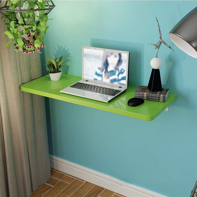60% de descuento Wghz Mesa Plegable Plegable Plegable Mesa de Comedor Mesa de Parojo Mesa de Parojo Simple Escritorio de computadora en el Escritorio de Parojo (Color  verde, Tamaño  70  60 cm)  Envío y cambio gratis.