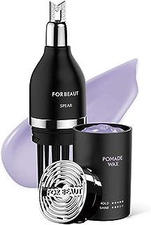 [フォービュート] For Beaut スピアワックス 50g ワックス直接タッチ不要, 松松脂の天然由来成分で強力なセッティング力と完璧な洗浄力 (ポマードタイプ) [並行輸入品]