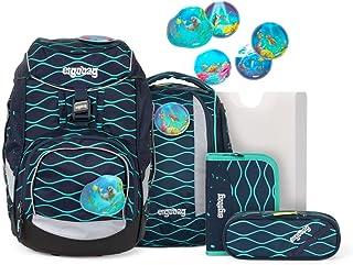 pack Set – ergonomischer Schulrucksack, Set 6-teilig